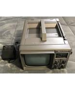Bentley Deluxe Portable 5-Inch Black & White Television TV, Model No. 10... - $24.74