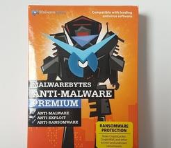 Malwarebytes Anti-Malware Premium v3.1.2 (1 PC- 1 year) - Brand New - $19.99