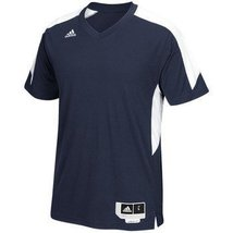 Adidas Commander 15 Shooter Mens Basketball Shirt S Navy-White - $40.87