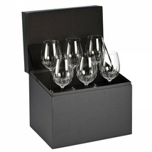 Waterford Lismore Essence Goblet Set of 6 New In Waterford Box #155950 - $345.02