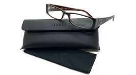 GUESS GU1589 BRN Women's Eyeglasses Frames 52-16-135 Brown + CASE - $31.98