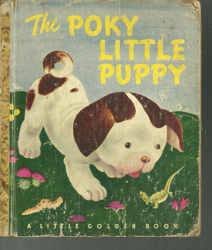 The Poky Little Puppy Little Golden Book (S-copy) Gustaf Tenggren