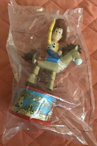 Disney Toy Story 2 Woodys Roundup 1999 McDonalds Bullseye horse candy dispenser
