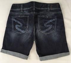 SILVER JEANS Sale New Buckle Low Rise Keri Denim Stretch Cuffed Jean Shorts 30 - $37.37
