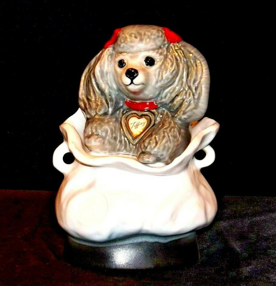Poodle Decanter 63781 AA19-1531 Vintage