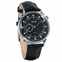 Vostok Classic Style Unisex #581589 Cubic Zirconia Dial Mechanical Wristwatch - $76.03