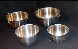 Mixing Bowls AB 649 Vintage Stainless Steel