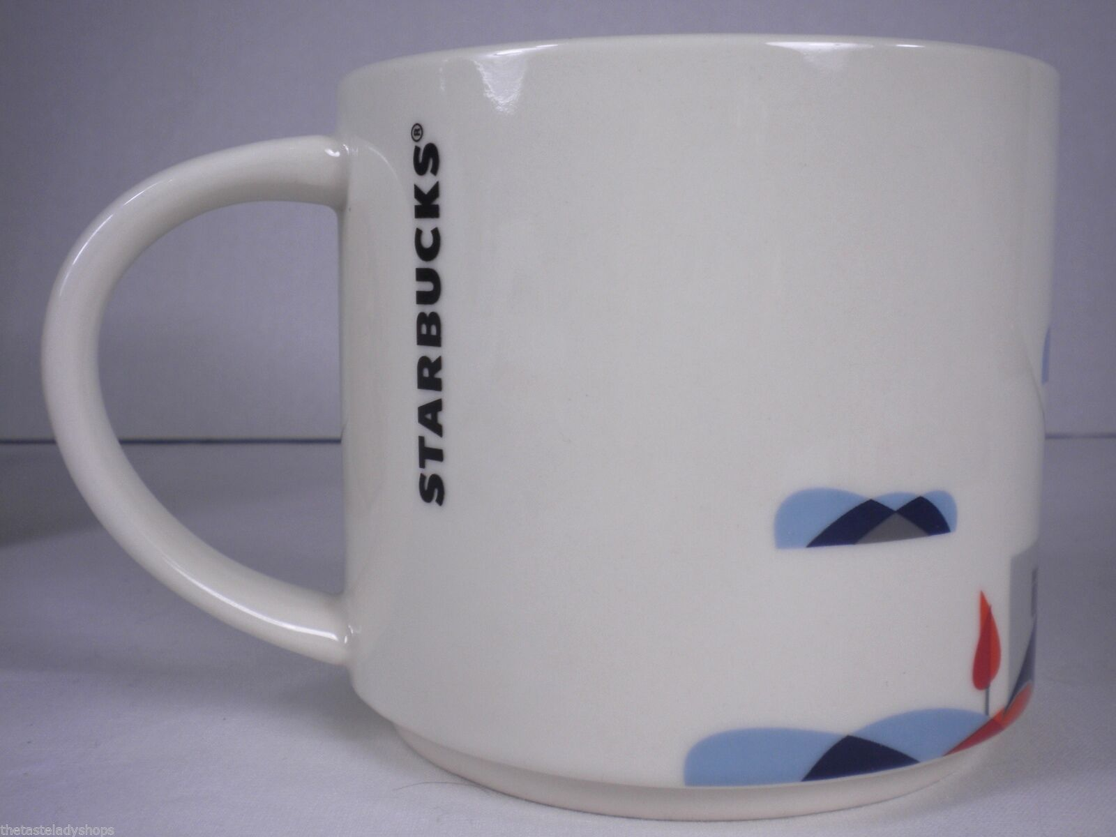 Starbucks Chicago You Are Here Collection Mug Cup NEW in Box Skyline, L Train image 5