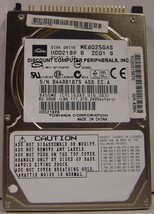 "60GB 2.5"" 9.5mm IDE 44pin Drive Toshiba MK6025GAS HDD2189 Our Drives Work"