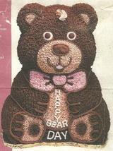 Wilton 3D Stand-Up Teddy Bear Cake Pan Set (2105-2325, 1986) - $56.18