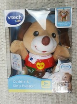 Vtech Baby Cuddle And Sing Puppy 30+ Songs Melodies Sounds And Phrases 3+ Months - $28.99