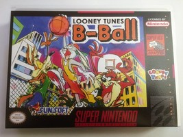 Looney Tunes B-Ball (Super Nintendo, SNES) - Reproduction Video Game Car... - $39.99