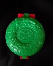 Vintage 1993 McDonalds Christmas Wreath Polly Pocket Playset - $4.94