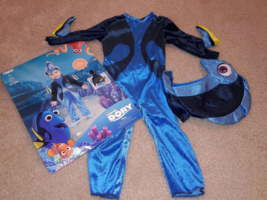 Finding Dory Disguise Toddler Girls Boys Deluxe Costume 12-18 mos Months 2 piece - £5.44 GBP