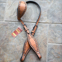 Hilason Western Horse One Ear Headstall Bridle American Leather Hand U-3-HS - $64.34