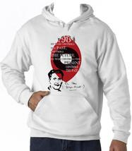 Orwell George - 1984 - New Cotton White Hoodie - $38.08