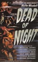 Dead Of Night Walter Winchell Mervyn Jones Rare Spanish Cinema Poster Po... - $10.99