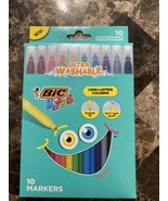 New Bic KIDS Washable Markers 10 pack NIB - $7.91