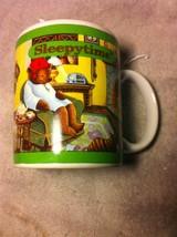 Sleepy Time Coffee Cup / MUG--CELESTIAL SEASONINGS--TEA---FREE SHIP--VGC - $19.07