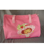 Strawberry Shortcake Duffle Bag Overnight Gym Dance Ballet Travel School... - $28.21
