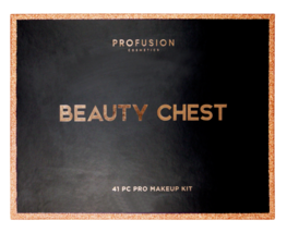 New Profusion Cosmetics Beauty Chest 41 PC Pro Kit Satin Shimmer Matte Pallet image 2