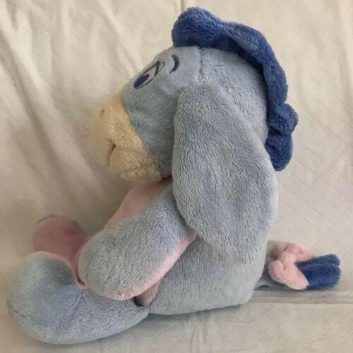 "KIDS PREFERRED Stuffed Plush EEYORE Crinkle Ears Rattle 12"" Disney Baby Toy image 4"
