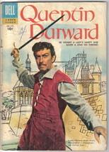 Quentin Durward Four Color Comic Book #672 Dell Comics 1955 VERY GOOD+ - $15.44