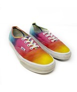Vans Colorimetry Rainbow Tie-Dye Lace Up Low Top Skate Sneaker Mens 6 Wo... - $28.05