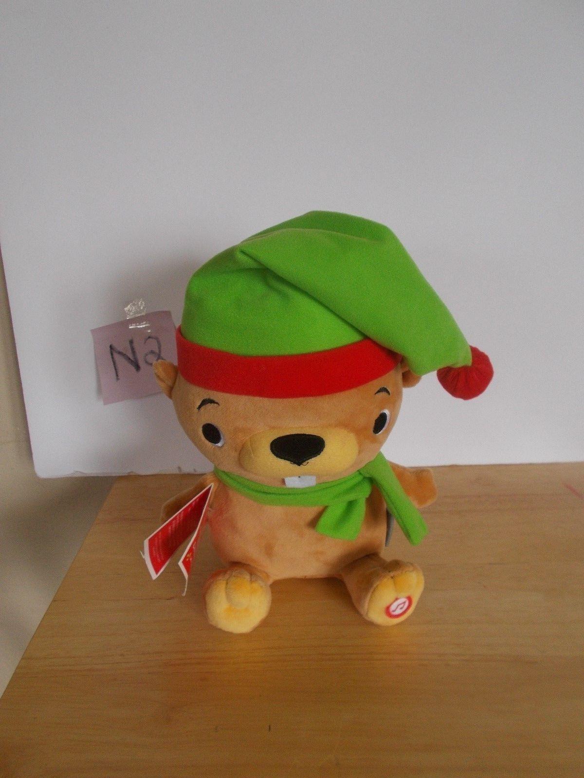 Hallmark Christmas Beaver, Plush Beaver with sound