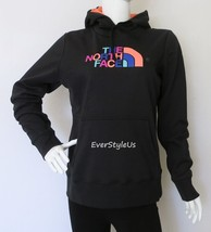 NORTH FACE Women's Half Dome Hoodie Spring Fall Winter Hoodie Black/Mint... - $44.97