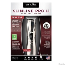 Andis Professional Slimline Cord/Cordless Trimmer - 6000SPM (Slimline Ion) - $66.70