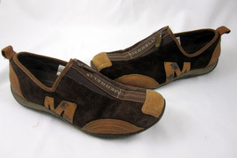 Merrell Performance Size 7.5 Shoes Barrado Coffee Bean Suede Brown Leather - $39.99