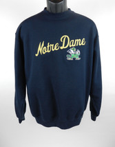 Champion Sweatshirt Mens Sz L Navy Blue LS Notre Dame ND Fighting Irish ... - $31.67