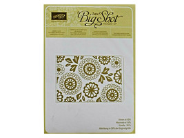 Stampin' Up! Textured Impressions Embossing Folder Lovely Lace #133737 - $4.99
