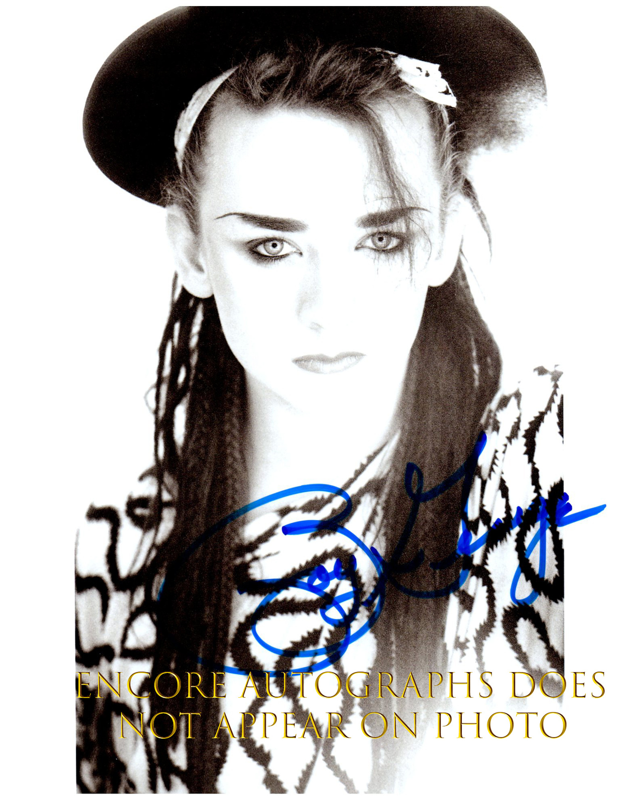 Primary image for BOY GEORGE  Authentic Original  SIGNED AUTOGRAPHED PHOTO w/ COA 1337