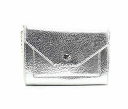 Nine West $40 New Metallic Silver Mini Crossbody Bag Purse Table Treasures - $19.79