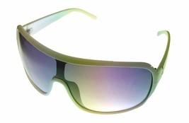 Perry Ellis Mens Sunglass White Plastic Shield, Smoke Gradient Lens PE11 5 - $17.99