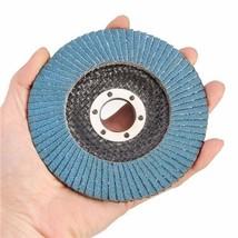 """115mm-4.5""""-Flap-Sanding-Disc-40-60-80-120-Grit-Angle-Grinder-Wheel-wp-Usa - $6.74"""