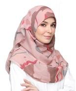 BOKITTA VELVET SAND - PRINTED SMOOTH CHIFFON INSTANT HIJAB Muslim Scarf ... - $55.62+