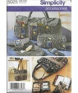 Simplicity Pattern #5025-BAGS & ACCESSORIES-Christmas in July - $5.86