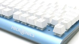 Micronics K735 Mechanical Gaming Keyboard Red Body (Kailh Box Switch White) image 2