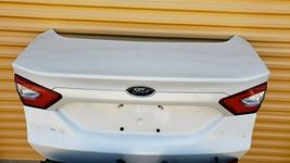 2013-16 Ford Fusion Trunk Lid & Tail Lights L&R w/o Camera image 2