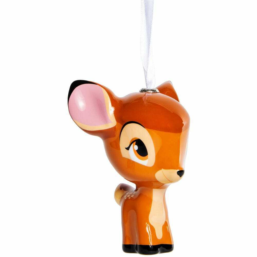 Primary image for Hallmark® character decoupage christmas ornament Disney Bambi w