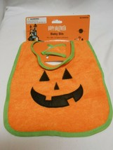 New Happy Halloween Pumpkin Face Baby Bib SALE 0.99 - $0.98