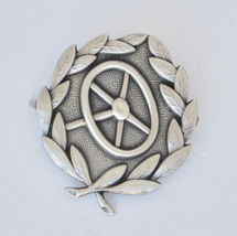 WWII German Army Drivers Qualification Badge - Silver - $23.36