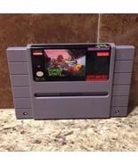 Thunder Spirits Authentic Super Nintendo Game Cartridge SNES Tested  - $19.34