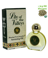 Anointing Oil Lily of the Valleys from Jerusalem and Olive Leaves ¼ fl.o... - $9.90