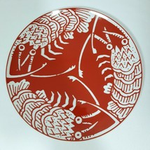 """1970s Mikasa Cathy Hardwick The Lobster Red 10"""" Dinner Plate RARE! Narum... - $28.71"""