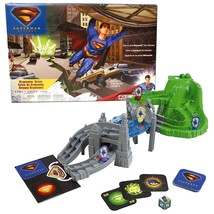 Superman Returns Mattel Year 2005 Series Board Game - Kryptonite Crisis with 4 S - $44.99