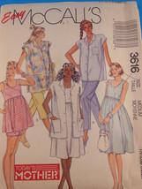 McCall's Pattern 3616 UnCut FF size medium Maternity  today's mother Motherhood - $4.84
